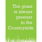 The grass is always greener in the Countryside.  by StephenSmith