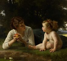 Temptation, 1880 by Bridgeman Art Library