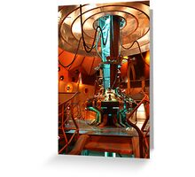 Doctor Who Tardis Control Console Greeting Card