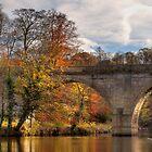 Prebends Bridge in Autumn by Great North Views