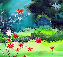 Garden 1 by Anil Nene