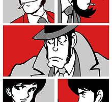 Lupin - Pop Art by Arien Jorgensen
