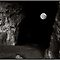 Full Moon through the Mouth of the Cave by Wayne King