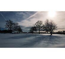 Winter Shadow Photographic Print