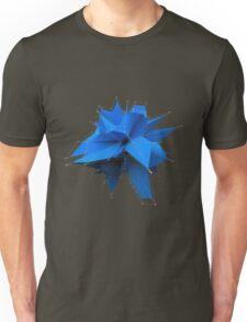 Blue Polygon Unisex T-Shirt