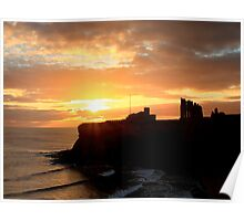 Priory Sunrise Poster