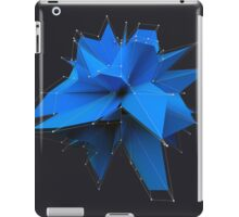 Blue Polygon iPad Case/Skin