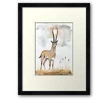Prince of Savanah Framed Print