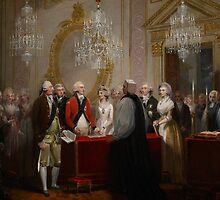 The Marriage of the Duke and Duchess of York, 1791 by Bridgeman Art Library