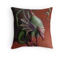 Alchemical Beast Throw Pillow