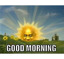 Ainsley Harriott - Good Morning Photographic Print