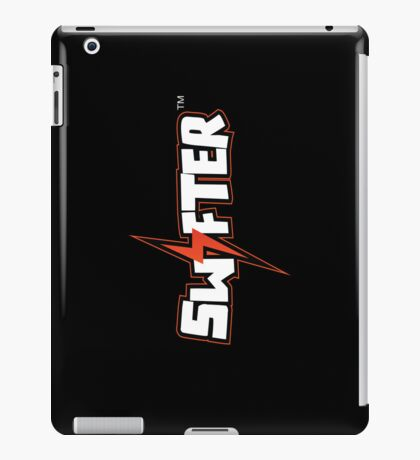 Swifter iPad Case - Black Vertical iPad Case/Skin