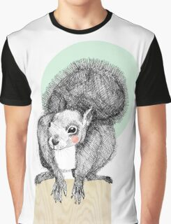 Squirrel Graphic T-Shirt