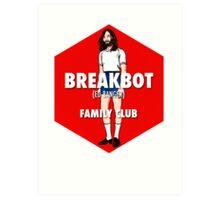 Breakbot - Family Club Art Print