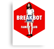 Breakbot - Family Club Canvas Print