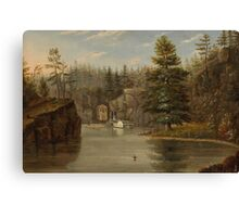 Gorge of the St. Croix, 1847 Canvas Print