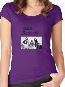 Iron Butterfly Women's Fitted Scoop T-Shirt
