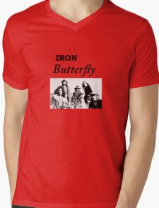 Iron Butterfly Mens V-Neck T-Shirt