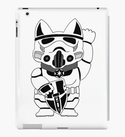 Lucky Trooper Cat iPad Case/Skin