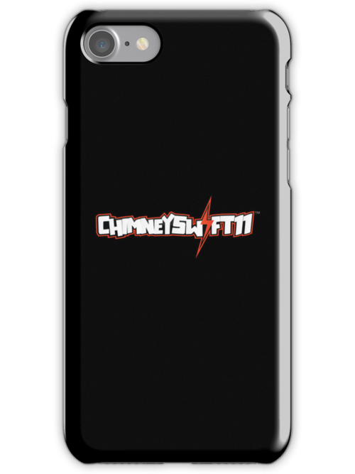 ChimneySwift11™ iPhone/iPod Touch Case - Black Horizontal by ChimneySwift11