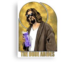 The Dude Big Lebowski Poster Canvas Print