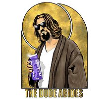 The Dude Big Lebowski Poster Photographic Print