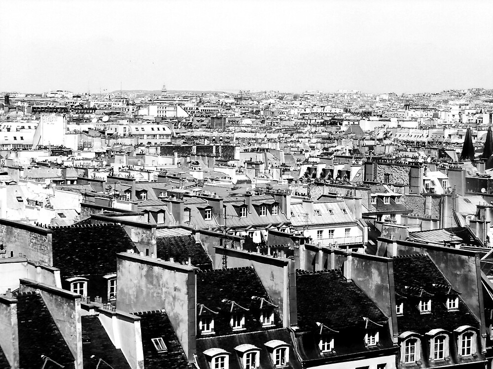 Above Paris by jlv-