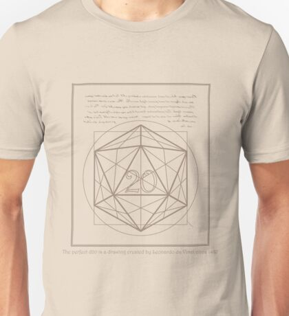 The perfect D20 Unisex T-Shirt