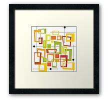Fours Framed Print