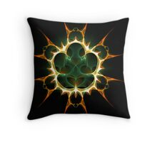 Protected Heart Throw Pillow