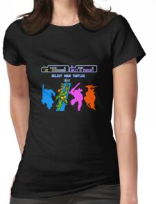 Turtles in Time - Michelangelo Womens Fitted T-Shirt