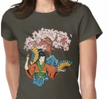 Geisha Dreams Womens Fitted T-Shirt