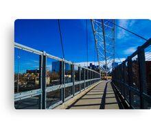 Highland Denver Bridge Canvas Print