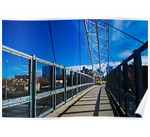 Highland Denver Bridge Poster