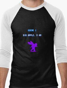 Turtles in Time - Big Apple Men's Baseball ¾ T-Shirt