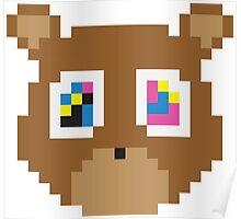 Kanye West (8-Bit) Poster