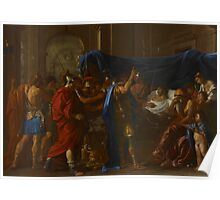 The Death of Germanicus, 1627 Poster