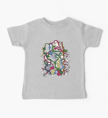 Dissolve Abstract 1 Baby Tee