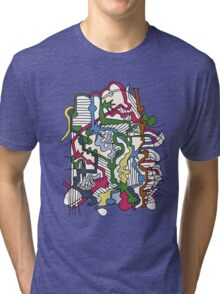 Dissolve Abstract 1 Tri-blend T-Shirt
