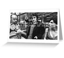 Black Books Greeting Card