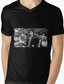 Black Books Mens V-Neck T-Shirt
