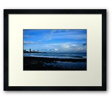 Burleigh Heads After The Rain Passed Framed Print