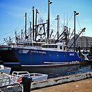 Fishing boat by Nancy Richard
