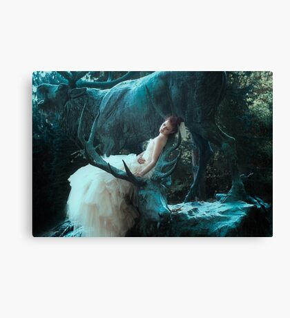 Deer Dreams Canvas Print