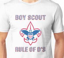 Workaholics Boy Scouts Rule of D's Unisex T-Shirt