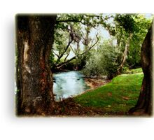Our Place... In The Walk... Canvas Print