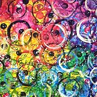 Rainbow Bubbles by Angel Ray