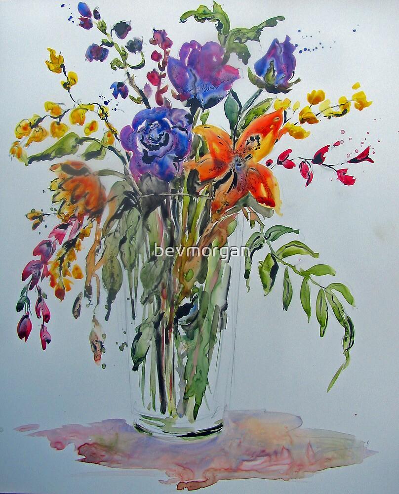 Found Flowers by bevmorgan