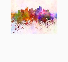 Pittsburgh skyline in watercolor background Unisex T-Shirt