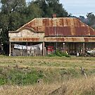 the butcher now takes in washing ( Cowra -Young road.) by geof